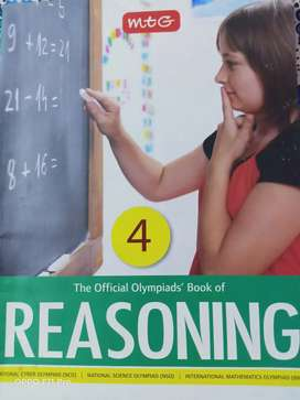 The official Olympiads' book of Reasoning for class 4