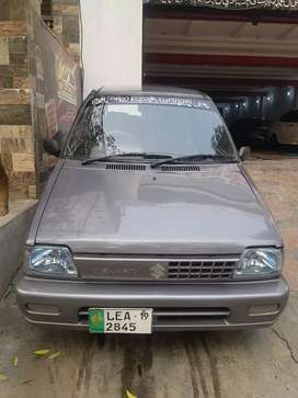 Suzuki Mehran Vxr 22 paid 18000 installmint Bank Leased