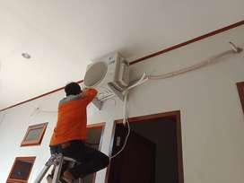 Cuci AC, Service AC, Bongkar Pasang AC
