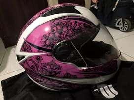 Jual helm zeus pink