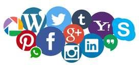 Social  & Digital media marketing person required