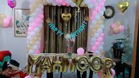Birthday Party Balloons Decoration Event PLanner