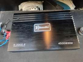 Car Amp and Woofer 4500W for Sale