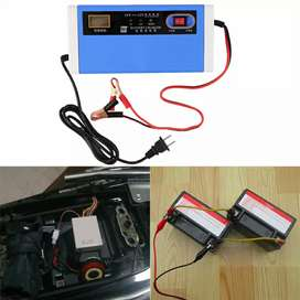 Charger Aki 24V 10A With LCD