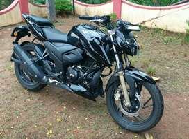 New Apache Rtr 200 with riding modes