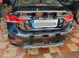 Verna back bumper diffuser