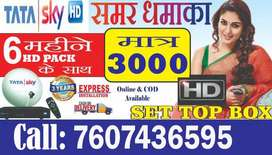 TATA SKY SUPER OFFER FULL HD 6 MONTHS@Rs 3000 only-TATASKY DISH AIRTEL