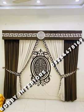Bobby Interiors curtains and blinds MATT VELVET