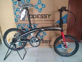 Sepeda Lipat Odessy python 20 inch