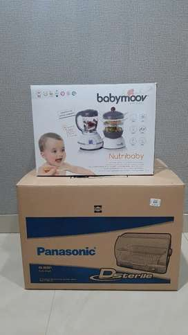 Babymoov Nutribaby dan Panasonic Dsterile