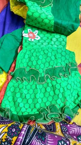 New packed 16 piece colourful dresses for 1-2 year girl babies