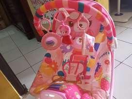 Bouncer sugar baby warna pink