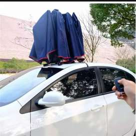 Automatic car umbrella tent portable remote control operated