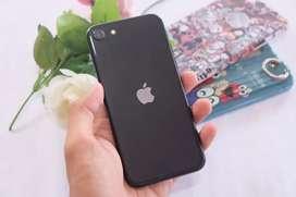 Iphone Se 2020 64gb black garansi tam