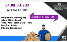 Part time delivery work