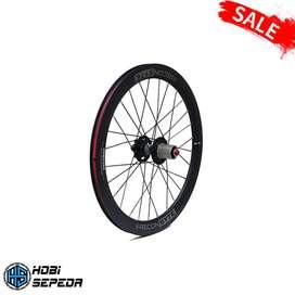 Wheelset SYTE Jangkrik Ukuran 16x1.3/8 dan 20x1.3/8