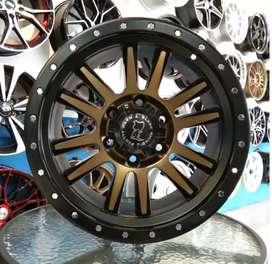 velg RINOS 17×9.0 h6×139.7 untuk mobil pajero Fortuner