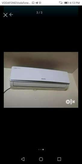 New brand Voltas 1.5 ton Split Ac with Hot and cold features for sell