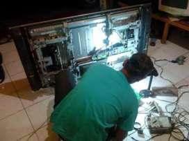 Jasa Service TV Panggilan LCD, LED, CRT, Plasma