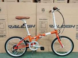 Raleigh Classic folding Bike (sepeda lipat) Brand UK mirip Dahon BW