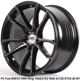 Velg BMW Ring.19X85,95 Hole.5X120 ET35,30 BLACK TINT MACH FACE