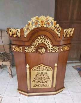 mimbar masjid musola biasa 03