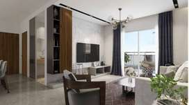 *In  ₹ 73L **2BHK-1208 Sqft*sale at Incor One City Kukatpally HYD