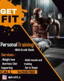 Fitness training and weight loss
