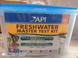 Fish farming Api freshwater master test kit