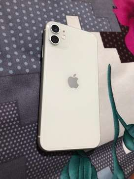 I phone 11 only 1.5 month old. New as box pack hardly used.