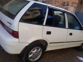 Suzuki cultus with CNG and AC working
