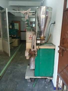 Automatic packing pouch machine