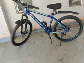 Well maintained cycle with disc and gear both side