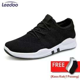 Leedoo Sepatu Sneakers Pria Import / sepatu kantor / sepatu kerja