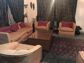 Two 5 Seater sofa sets
