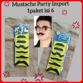 New Mustache Party isi 6pcs