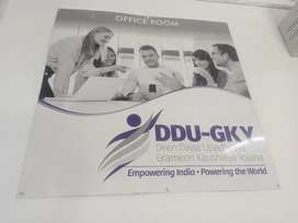 Different type jobs in DDUGKY Skill Devlopment
