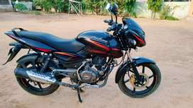 Bajaj Pulsar 150CC, colour Black, date of vehicle regist. 14.03.17