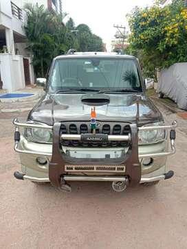 Mahindra Scorpio 2009-2014 VLX 4WD BSIII, 2008, Diesel