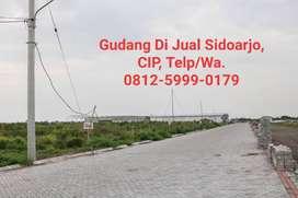 Kavling Industri dan Pergudangan Modern, Murah, Sidoarjo, Jawa Tiimur