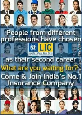 LIC OF INDIA wants Financial Advisor / Agent