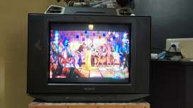 "21"" Sony Colour Television"