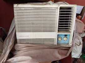 Imported portable Window AC (110 volt converted to 220 v)