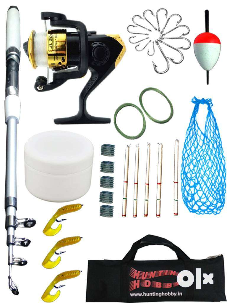 Fishing Rod,Reel,Accessories Complete Beginners kit, 0