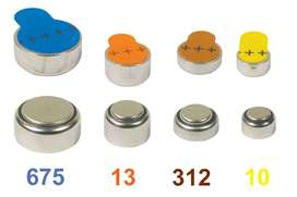 hearing aids batteries / choclear implant batteries