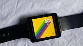 LG smart watch touch screen