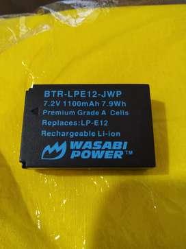 Batre Wasabi untuk kamera Canon LP-E13
