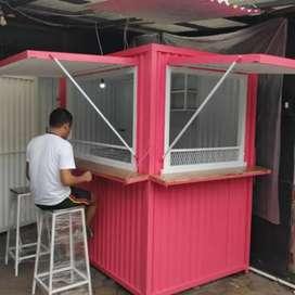 kredit container booth untuk segala usaha,kirim semua kota