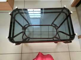 Glass top Center Table to Sell