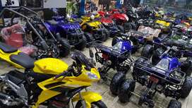Petrol engine 50cc to 300cc atv quad 4 wheels delivery all pakistan